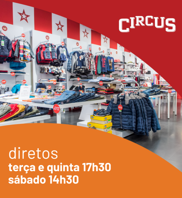 Circus - Diretos no Facebook
