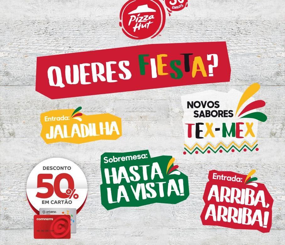 Pizza Hut - Queres Fiesta?